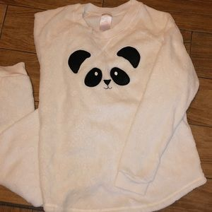 Secret Treasures Panda pajama set size LG(12-14)